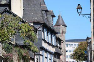 prachtvolle Blickwinkel in Quimper
