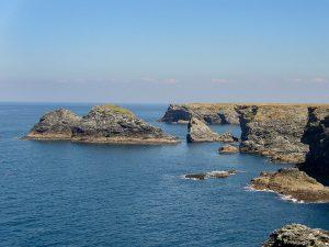 die wilde Steilküste der Belle Ile