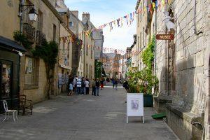 die mittelalterliche Stadt Guerande