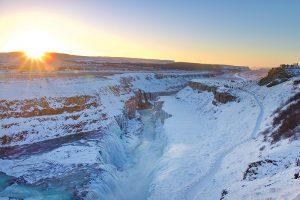 """der Gullfoss - der """"goldene Wasserfall"""" am """"Golden Circle"""""""