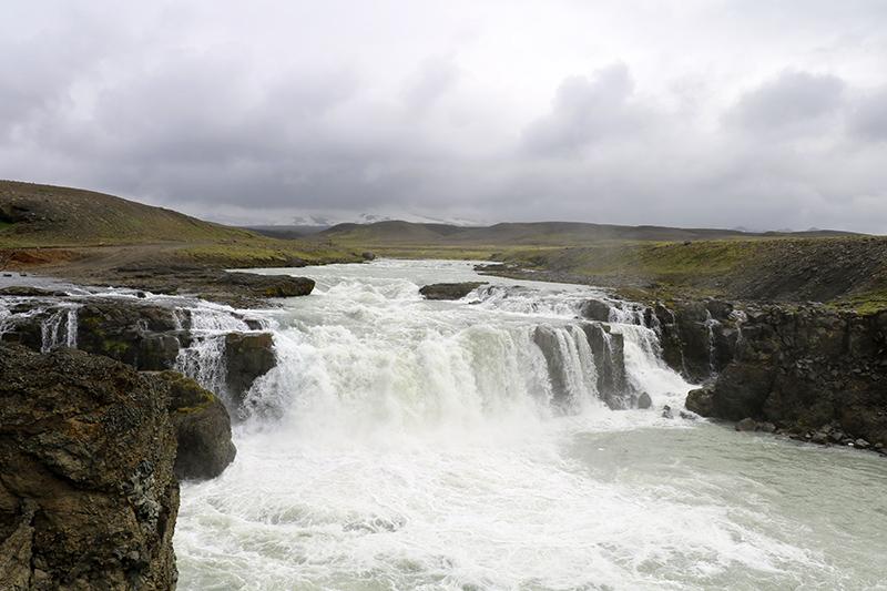 der Gygjarfoss im Hochland von Island