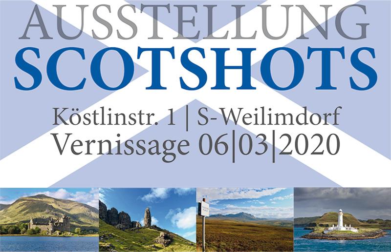 """Ausstellung """"Scotshots"""" in Weilimdorf"""