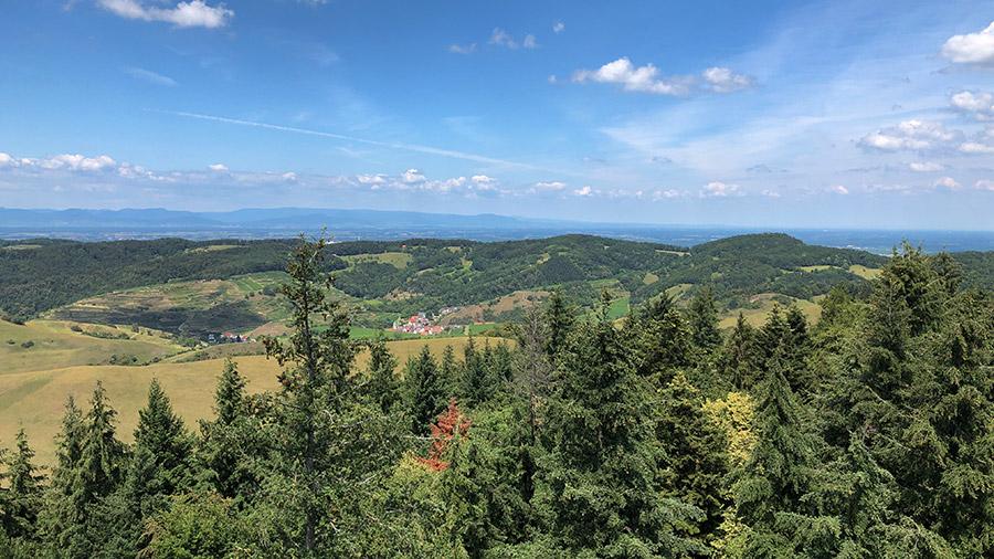 Der Kaiserstuhl im Breisgau