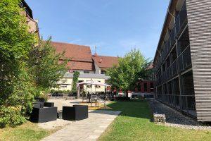 """Blick in den """"Braugarten"""" der Speidel´s BrauManufaktur"""