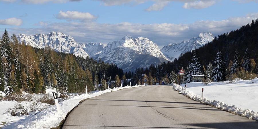 Passstraßen der Dolomiten