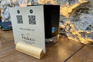 Menü und Weinkarte unter Coronabedingungen: Per QR Code aufrufbar