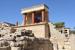 """berühmtes Knossos - die Ausgrabungsstätten sind derzeit ohne viele Touristen eher ein """"Muss"""". Foto: GOEDE"""