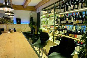 "das ""Séparée Vin"" im La Vigotte"